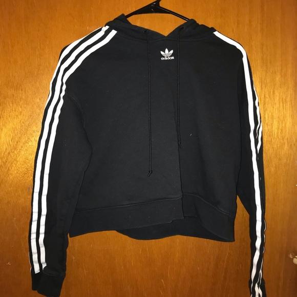 adidas originals adicolor 3 stripe pullover hoodie
